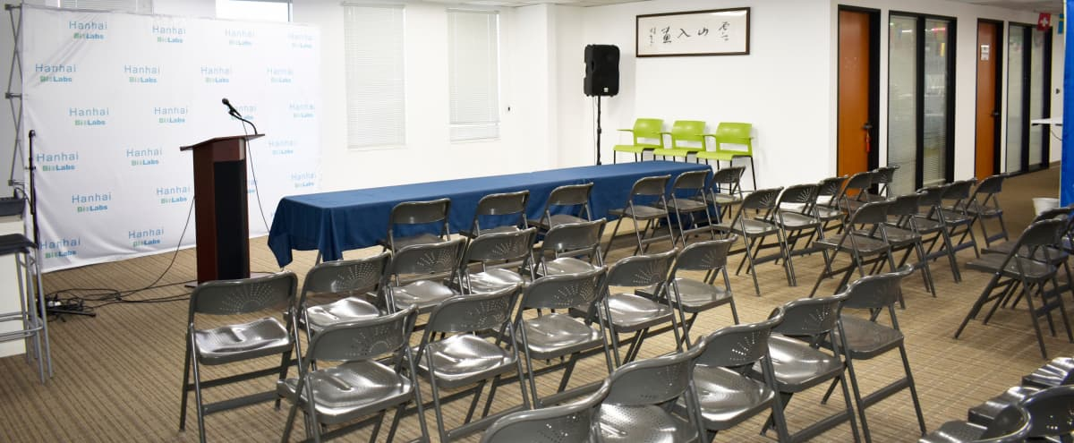 High-Tech Modern Event space near SFO International Airport in Burlingame Hero Image in Ingold - Milldale, Burlingame, CA