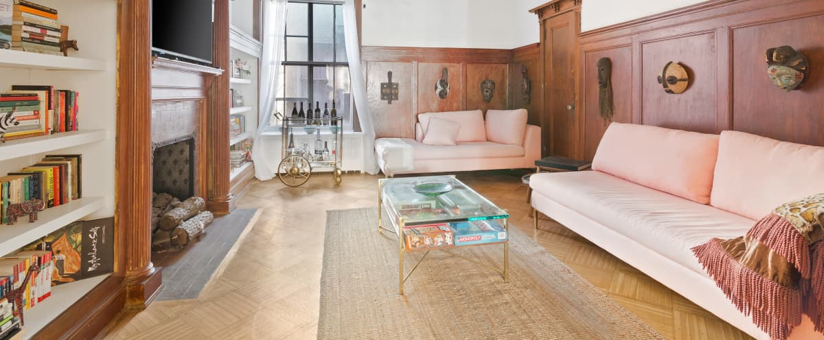 THREE PARLOURS   Historic Landmark Brownstone Mansion in Brooklyn Hero Image in Crown Heights, Brooklyn, NY
