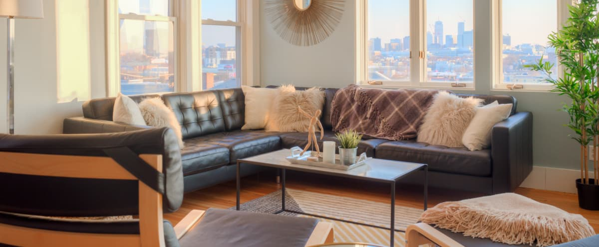 Luxury Apartment with Skyline View in Somerville Hero Image in Prospect Hill, Somerville, MA