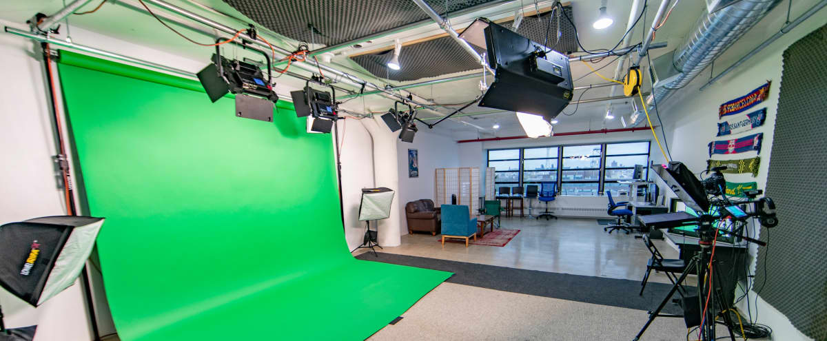 Brooklyn Navy Yard Production Studio with Lighting, Sound, Cameras and Post in Brooklyn Hero Image in Brooklyn Navy Yard, Brooklyn, NY