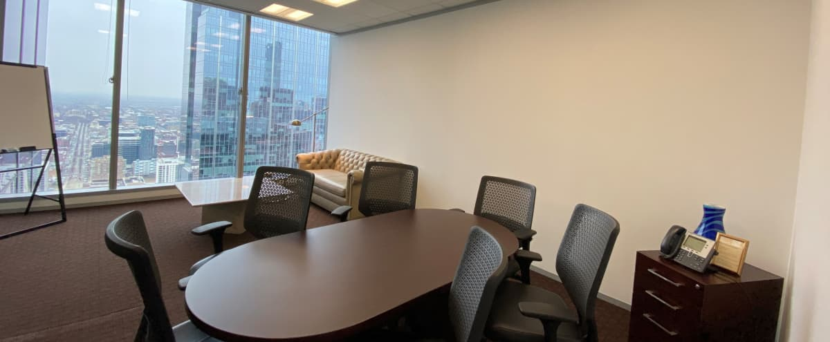 Premium, Private Huddle and Conference Room with Spectacular Views in Chicago Hero Image in Chicago Loop, Chicago, IL
