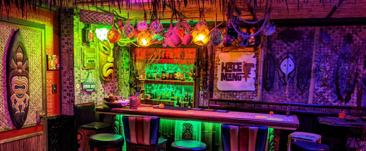 Escape to Polynesia in this Basement Tiki Bar in NASHVILLE Hero Image in McMurray, NASHVILLE, TN