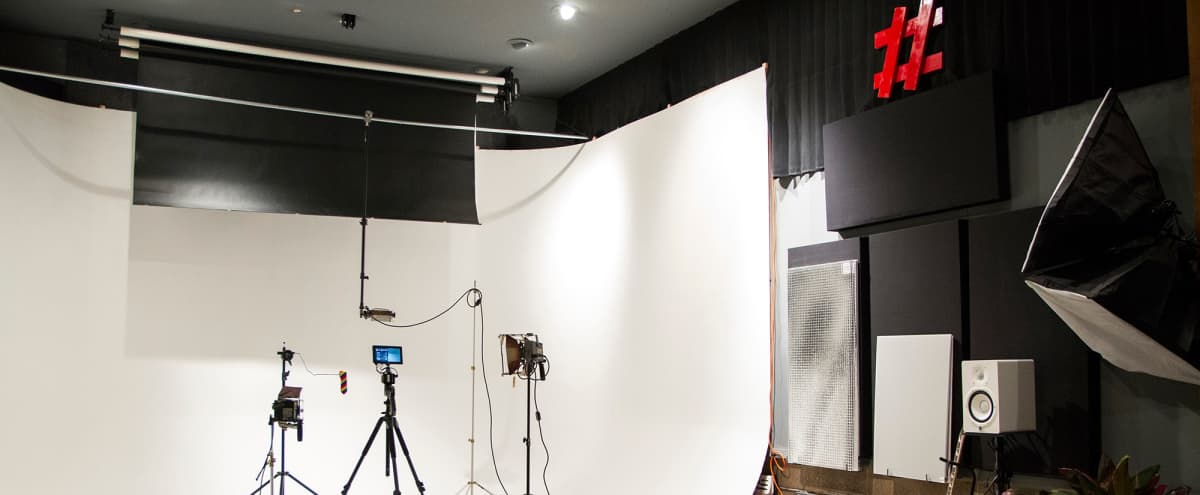 Studio w/Cyclorama & Equipment for Photo/Video Projects in Berkeley Hero Image in Southwest Berkeley, Berkeley, CA