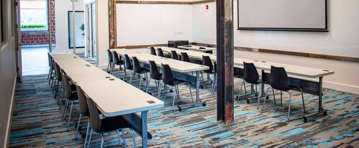 Modern Training Hub and Event Room within a historic building in Charlotte Hero Image in Westover Hills, Charlotte, NC