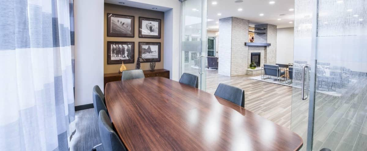 Modern Conference Room Downtown in Denver Hero Image in Central, Denver, CO