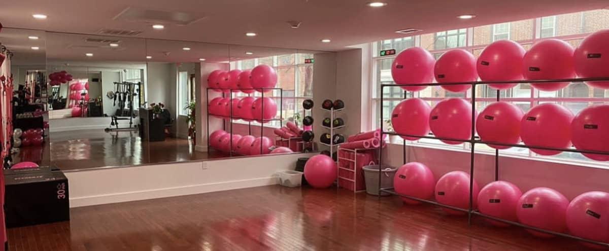 Pink Gym in Old City in Philadelphia Hero Image in Center City, Philadelphia, PA