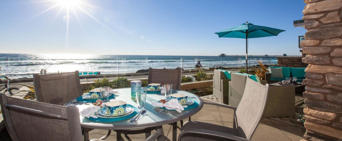 Oceanfront Modern Villa in Oceanside Hero Image in Townsite, Oceanside, CA