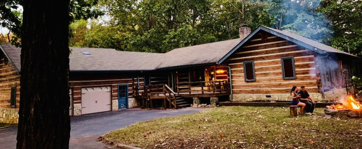 Entertainer's Home Fully Custom Aspen Style Log Cabin in Hermitage Hero Image in Hermitage, Hermitage, TN
