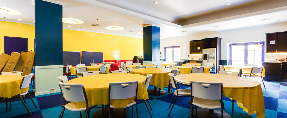 Colorful Event and Conference Space with Kitchen in San Mateo Hero Image in Central San Mateo, San Mateo, CA