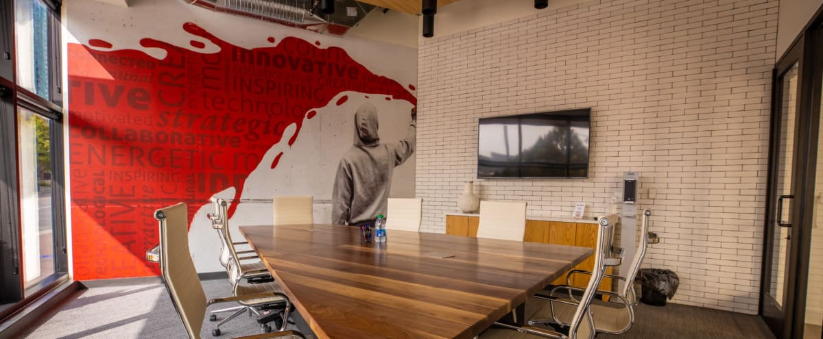 Fully Equipped Conference Room w/ Industrial Vibe in Kansas City Hero Image in Downtown Kansas City, Kansas City, MO