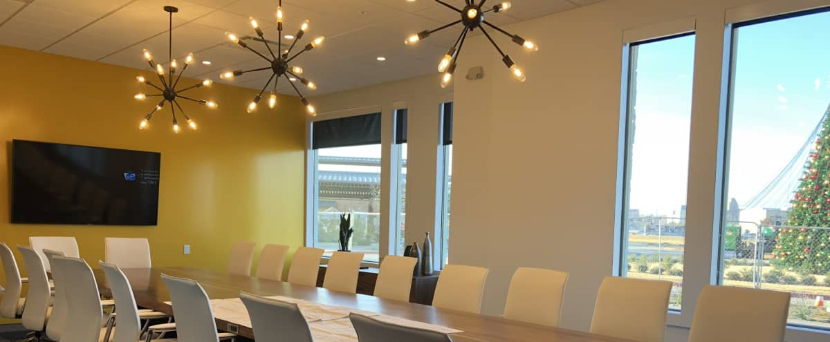 Modern & Spacious 20-Person Conference Roon in Frisco Hero Image in undefined, Frisco, TX