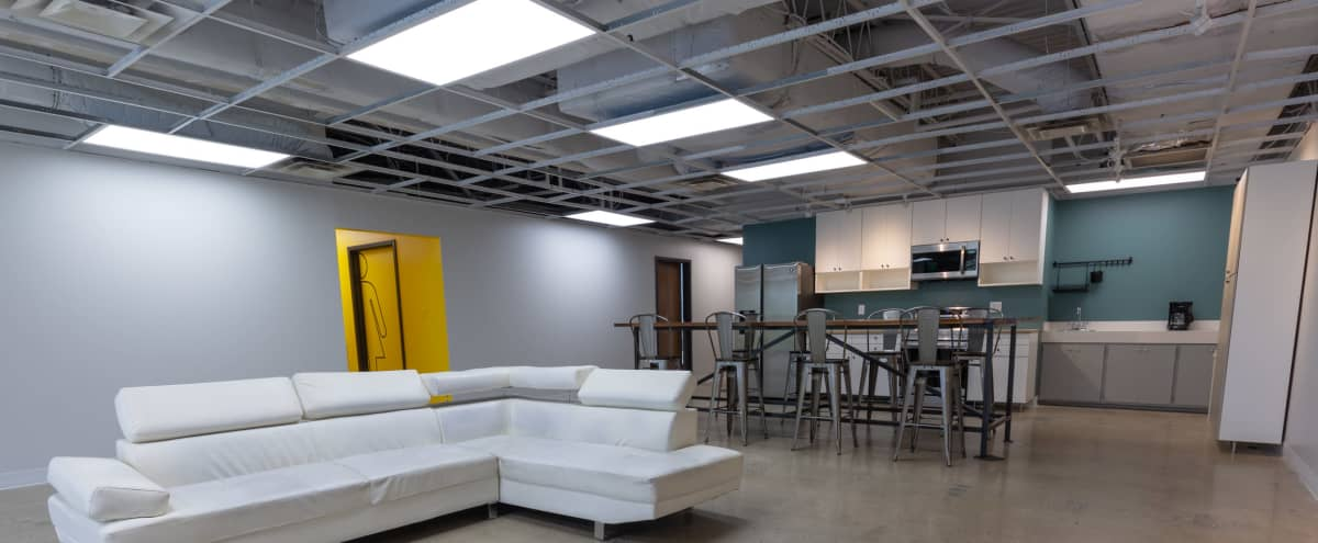 Large, Versatile Event Space with Access to Courtyard in Nashville Hero Image in South Nashville, Nashville, TN