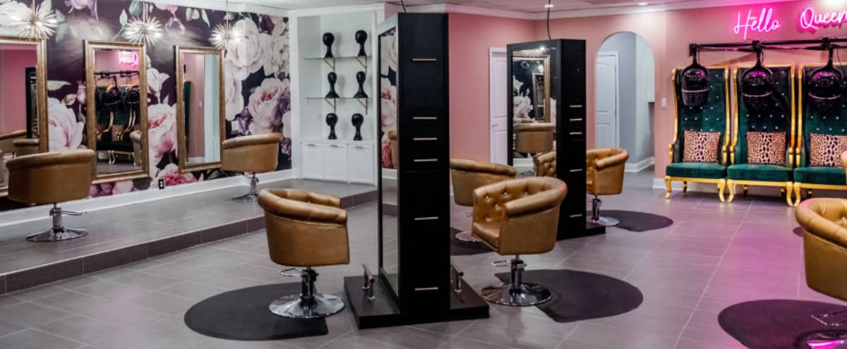 Luxurious Chic Salon Space Great for Photo/Video Shoot, Classes, Pop-Up Shops, Events, and More! in Decatur Hero Image in East Lake, Decatur, GA