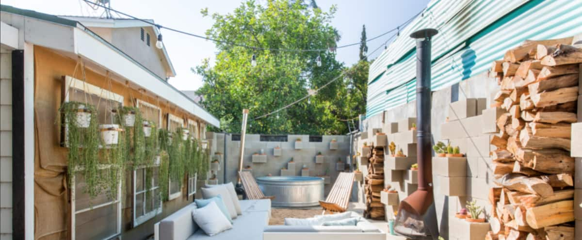 Boho Hollywood Retreat in Los Angeles Hero Image in Central LA, Los Angeles, CA