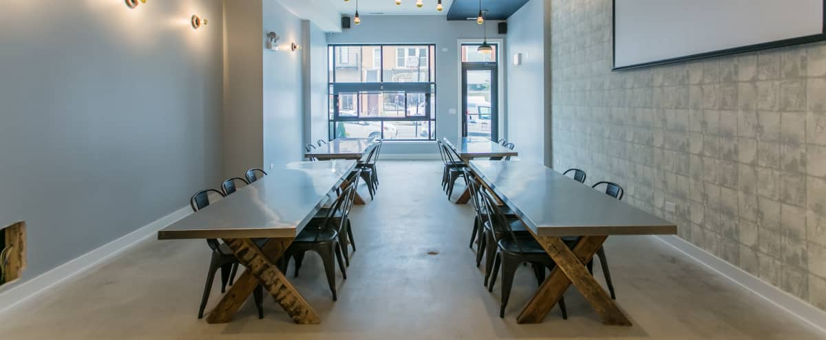 New Meeting Space With In House Catering | Roscoe Village in Chicago Hero Image in Roscoe Village, Chicago, IL