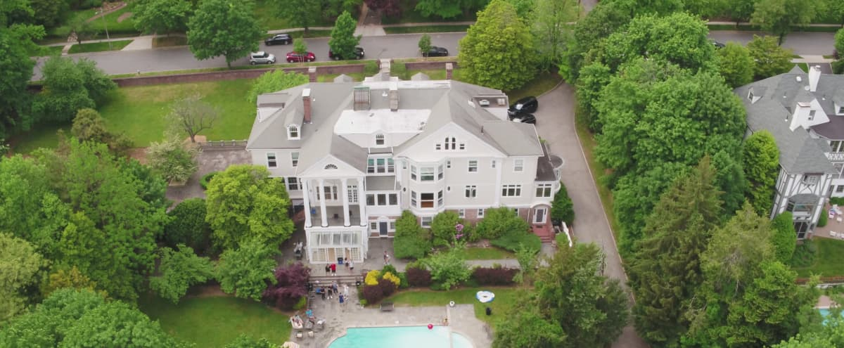 Scenic Outdoor Space w/ Lively Forest, Evergreen Grasslands, & Picture Perfect Pool Area in Montclair Hero Image in undefined, Montclair, NJ
