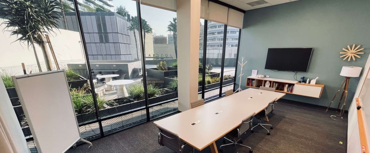 Large and Open Conference Room with Lobby In Convenient Hollywood Location in Los Angeles Hero Image in Hollywood, Los Angeles, CA