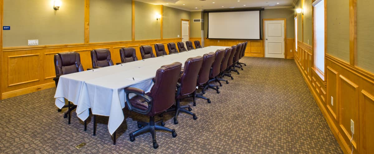 Host your meeting in our conference/boardroom.  Super quiet ambiance. in Saratoga Hero Image in undefined, Saratoga, CA