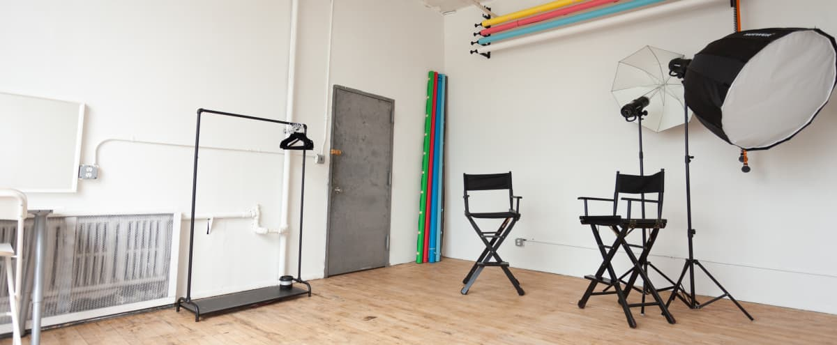 Backdrops & Equipment included Studio in Brooklyn Hero Image in East Williamsburg, Brooklyn, NY