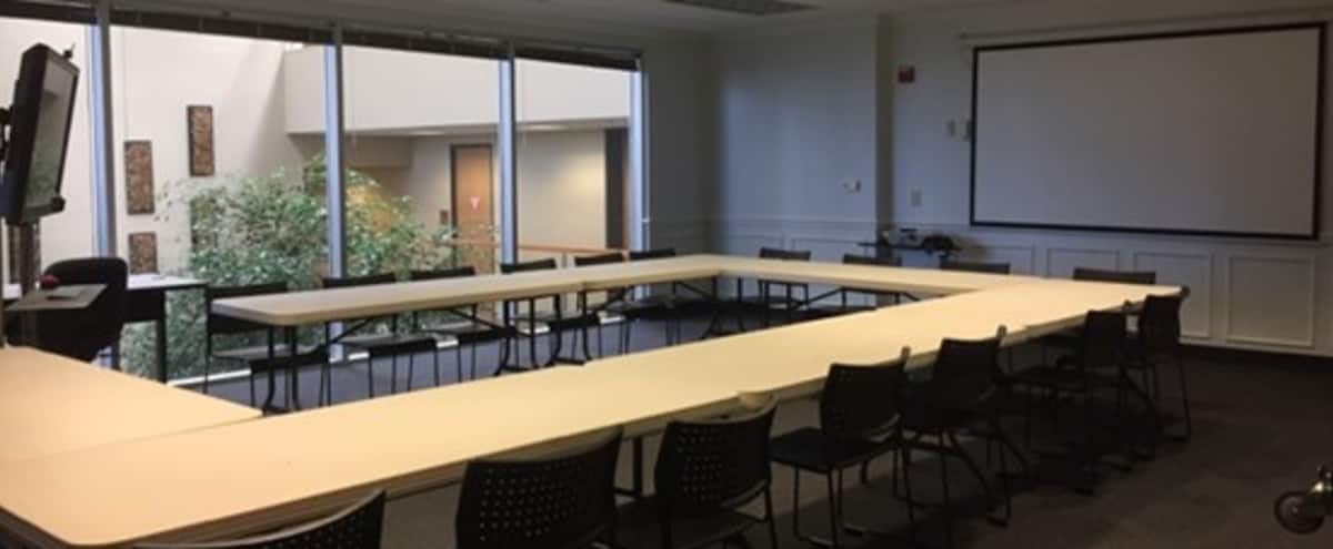 Large Training Room - Seats up to 65 Theatre Style in Austin Hero Image in North Crossing, Austin, TX