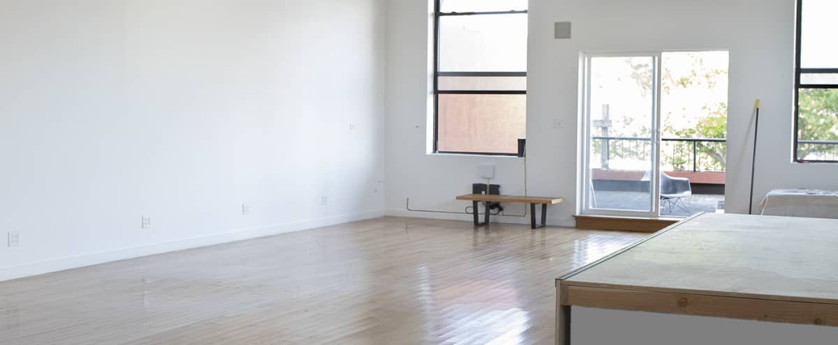 Airy Clean Artist Space in Brooklyn Hero Image in Gowanus, Brooklyn, NY
