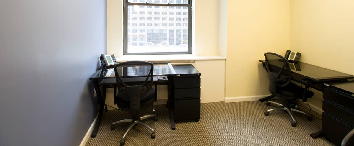 Private Furnished office for hourly/daily rental in New York Hero Image in Financial District, New York, NY