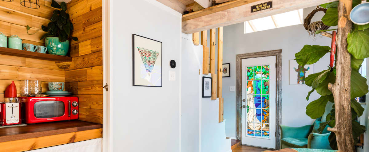 Artists Loft on Unique Wooded Property in Dallas Hero Image in undefined, Dallas, TX