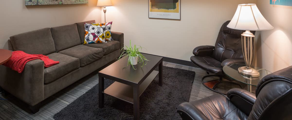 Small Meeting/Counseling Room near YVR Airport, Marine Dr & Richmond in Vancouver Hero Image in Marpole, Vancouver, BC