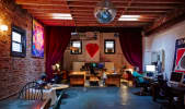 Entire studio for rent. 70's retro future decor. in Crown Heights, Brooklyn, NY | Peerspace