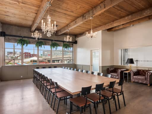 Host your next meal in a space that is great for dinners, luncheons, and brunches